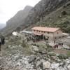 Mountain huts valle Llaca