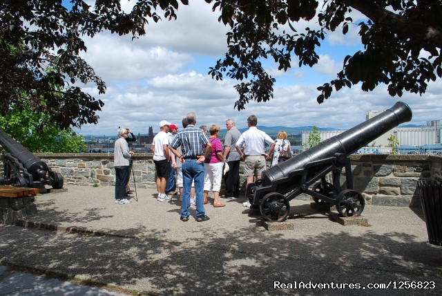 The Grand walking tour on the Ramparts - Quebec city tours