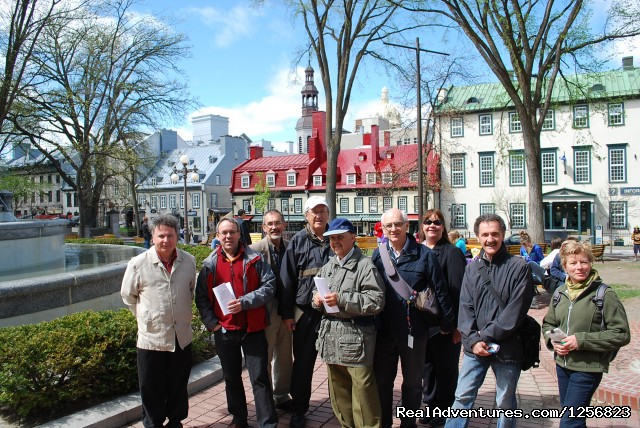 Part of the team - Quebec city tours