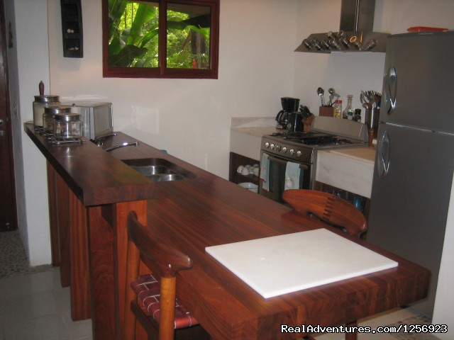 Kitchen - Nicaragua - Playa El Coco - On the Beach - SJDS