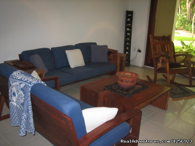 Spacious Living Room - Nicaragua - Playa El Coco - On the Beach - SJDS