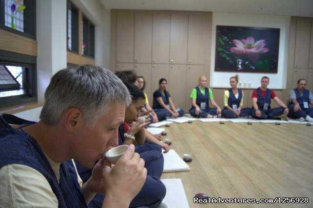 Tea Ceremony (#1 of 5) - International Seon Center