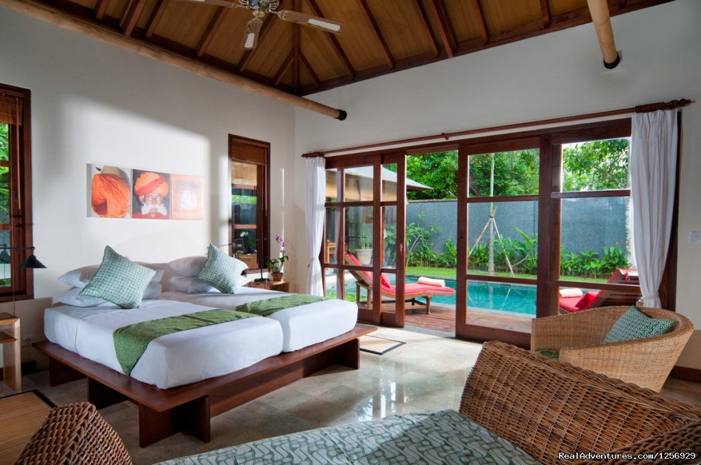 Two Bedroom Pool Villa | Image #7/17 | Deluxe Tropical Pool Villas by the Beach