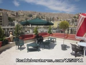 Roof Terrace (#6 of 26) - Best Budget Hotel in Amman with Cheap Daily Trips