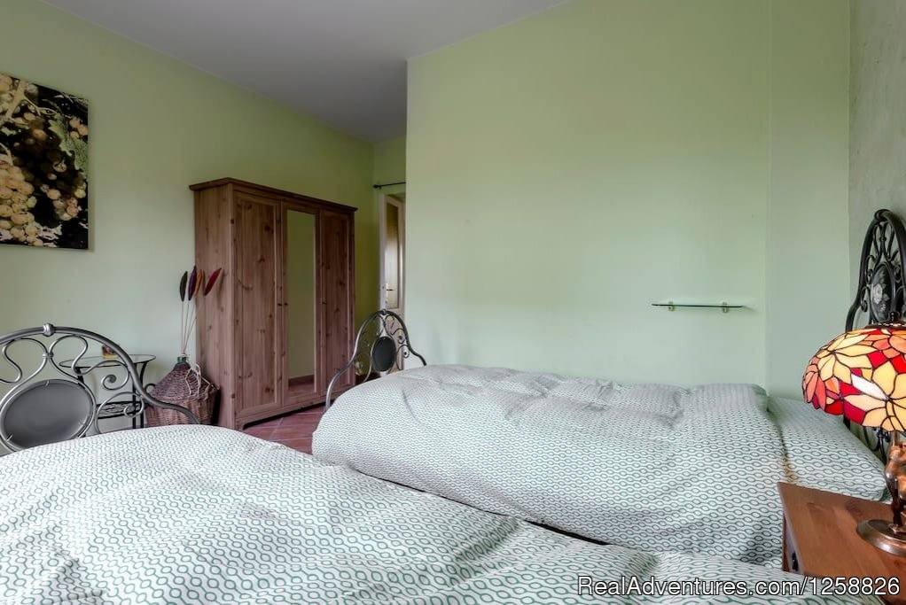 Second bedroom apartment Loggione | Image #9/18 | Holiday Home I Due Padroni - Wine region Milan
