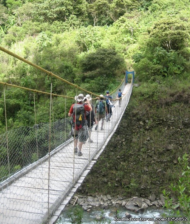 Walking On Day 2 | Image #10/21 | Hike the amazing Inca Jungle trail to Machu Picchu