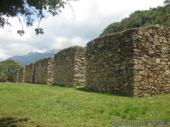 Llactapata archaelogical site on day 3 | Image #20/21 | Hike the amazing Inca Jungle trail to Machu Picchu