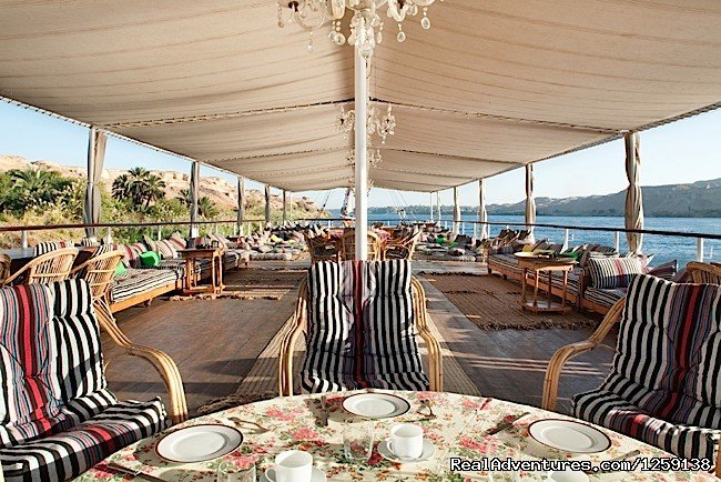 Sail The Nile River on a Dahabyah Boat Luxor, Egypt Sailing & Yacht Charters