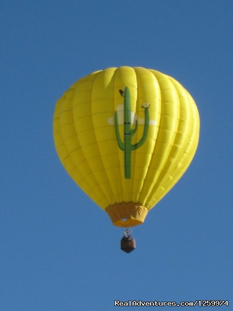 Image #1 of 2 - Hot Air Balloon Ride with champagne brunch
