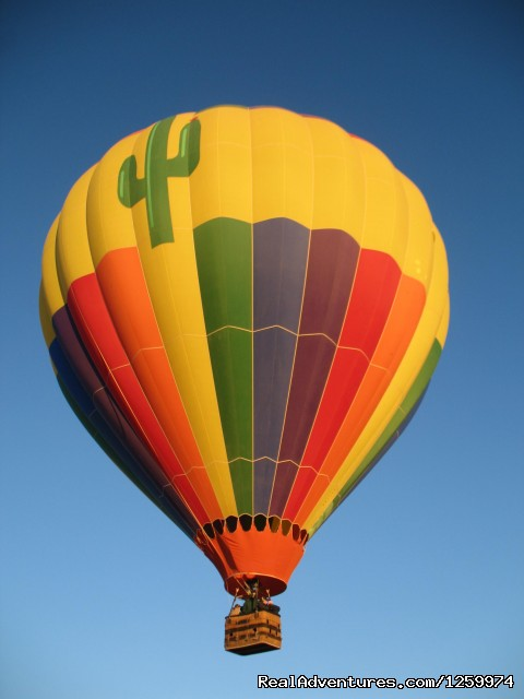 - Hot Air Balloon Ride with champagne brunch