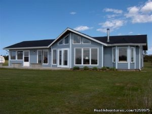 PEI Sunset Beachfront Chalet Vacation Rentals Blooming Point, Prince Edward Island