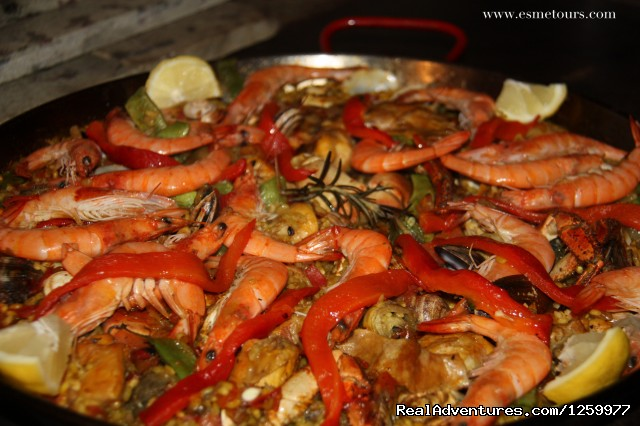 Paella - Travel & Cuisine Adventures in Spain