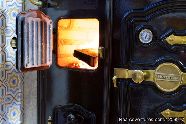 Our Wood Burning Cook Stove. - Travel & Cuisine Adventures in Spain