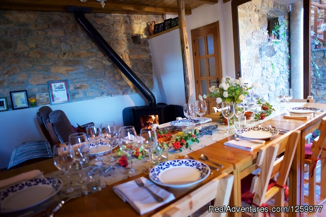 Dinner Time at the Lodge. - Travel & Cuisine Adventures in Spain