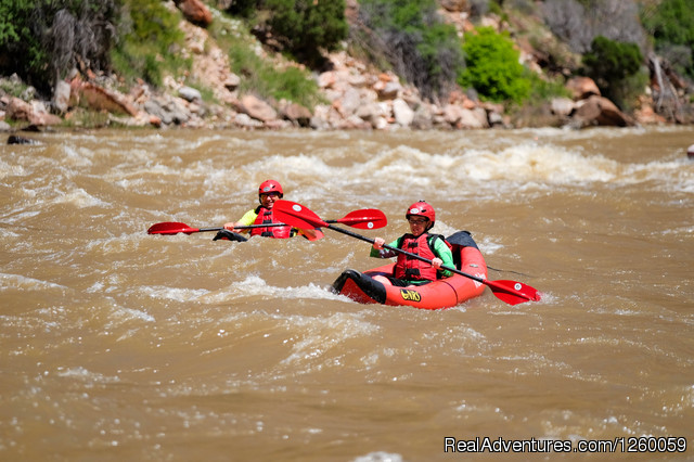 Whitewater - Naturalist Full Moon Utah Rafting Trips