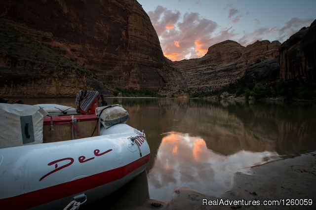 Dee Boat named after our founder - Yampa River Whitewater Rafting Trip