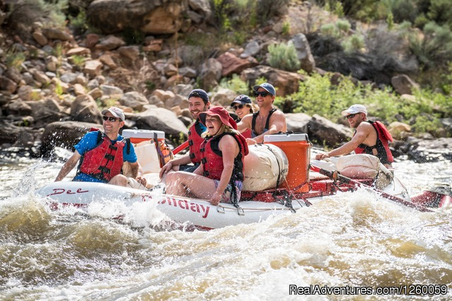 Yampa River Whitewater Rafting Trip