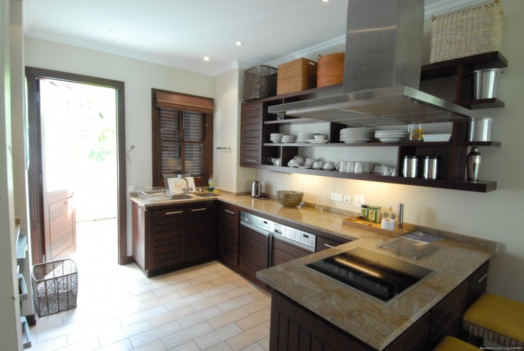 Luxury kitchens for Self Catering holidays | Image #4/11 | Seychelles Holiday Rentals on Eden Island