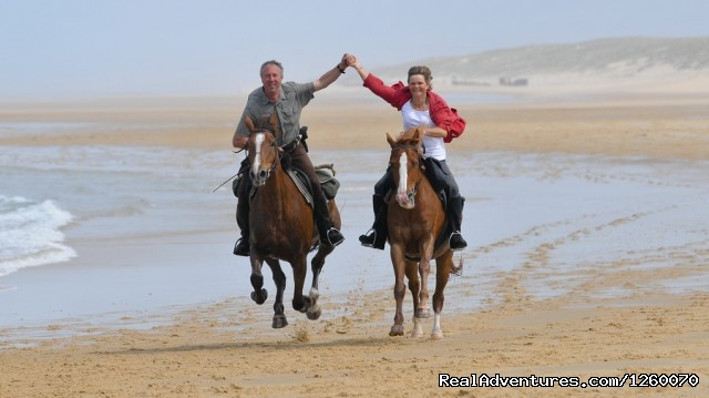 Ocean ride - Ocean-Beach Riding Holidays of a different Kind
