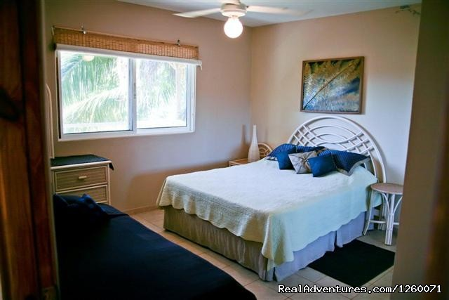 Lower bedroom of the 2/2 condo with queen-sized bed (#12 of 26) - Beachside Vacation Getaways at Vecinos