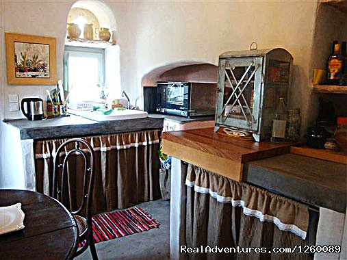 kitchen - Tinoshouse Holiday Rental on Tinos Island Greece