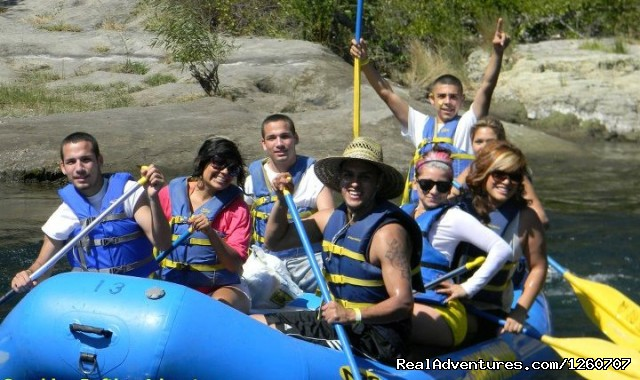 Fun in the Sun - Sunshine Rafting: Self Guided & Family Friendly
