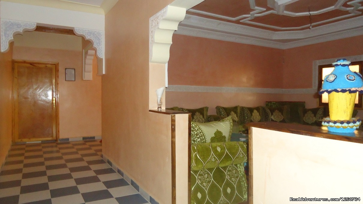 Ensuite room salon | Image #2/15 | Dar Amalou Imlil - Guest house Atlas Mountains