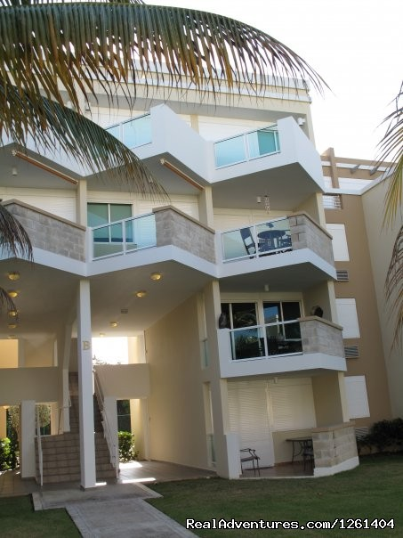 Puerto Rico Beach Apartment Front View of Condo