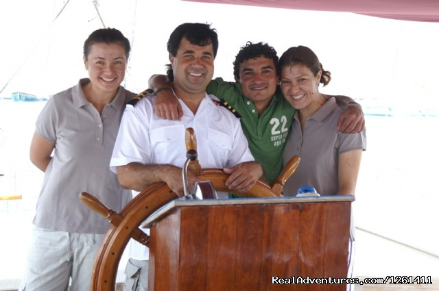 My Lover crew - Selimiye Tour Yacht Charter In Turkey