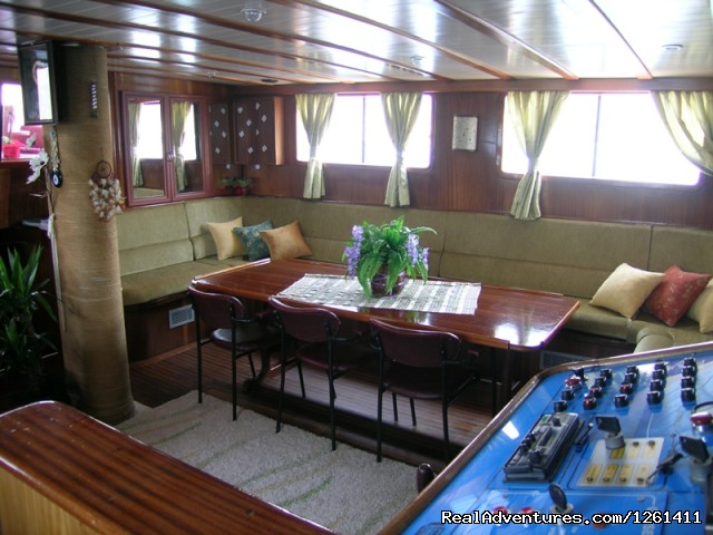 lounge - Selimiye Tour Yacht Charter In Turkey