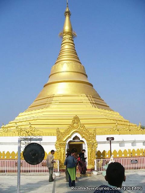 Burmese Lokamani Cula Pagoda Lumbini - Visit Lumbini Birth Place of Lord Buddha