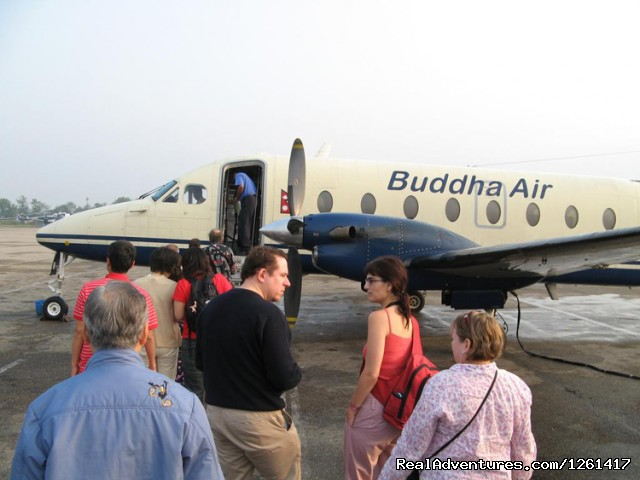 Buddha Air - Everest Experience Mountain Flights in Nepal