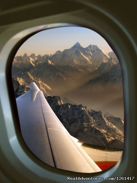 Windows - Everest Experience Mountain Flights in Nepal