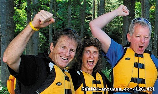 Half/Full day whitewater rafting and kayaking trips on dam controlled Deerfield River. Family owned and operated since 1983, New England's largest whitewater outfitter. Fun guide staff, delicious food, state-of-the-art equipment, riverside base camps