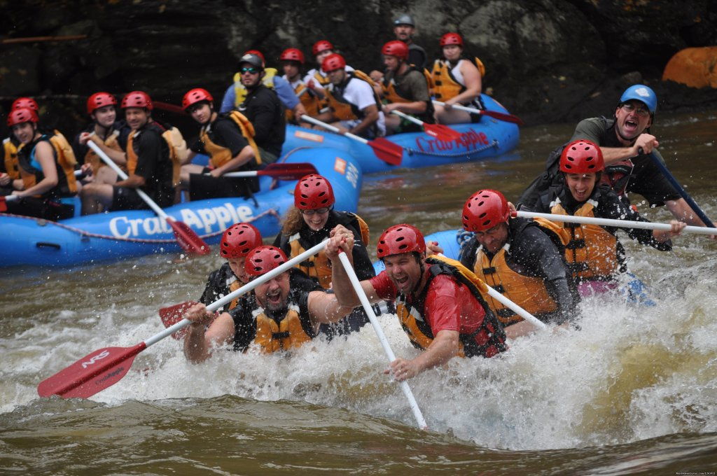Action and Smiles | Image #2/4 | Rafting and Kayaking in Massachusetts Berkshires