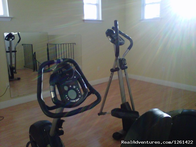 3rd Floor Excerise Room - Executive waterfront house