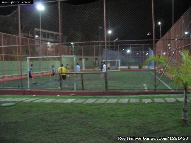 Football Field - Big Hostel Brasil