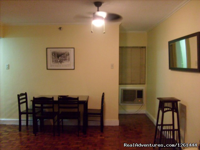 Dining area - Convenient,Affordable & Secure Condo in Makati