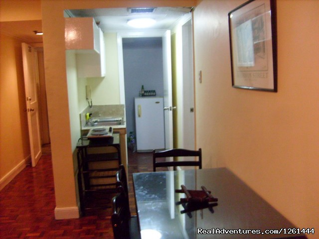 Kitchen - Convenient,Affordable & Secure Condo in Makati