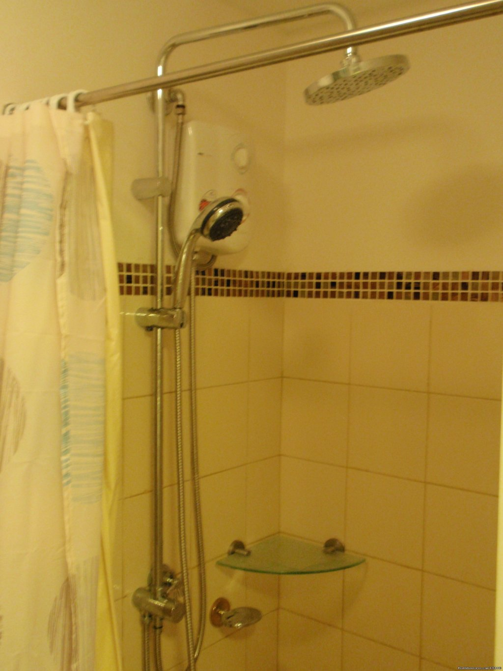 30th Floor Unit Bathroom-shower Room | Image #26/26 | Fully Furnished Studio-Condo Unit in Manila