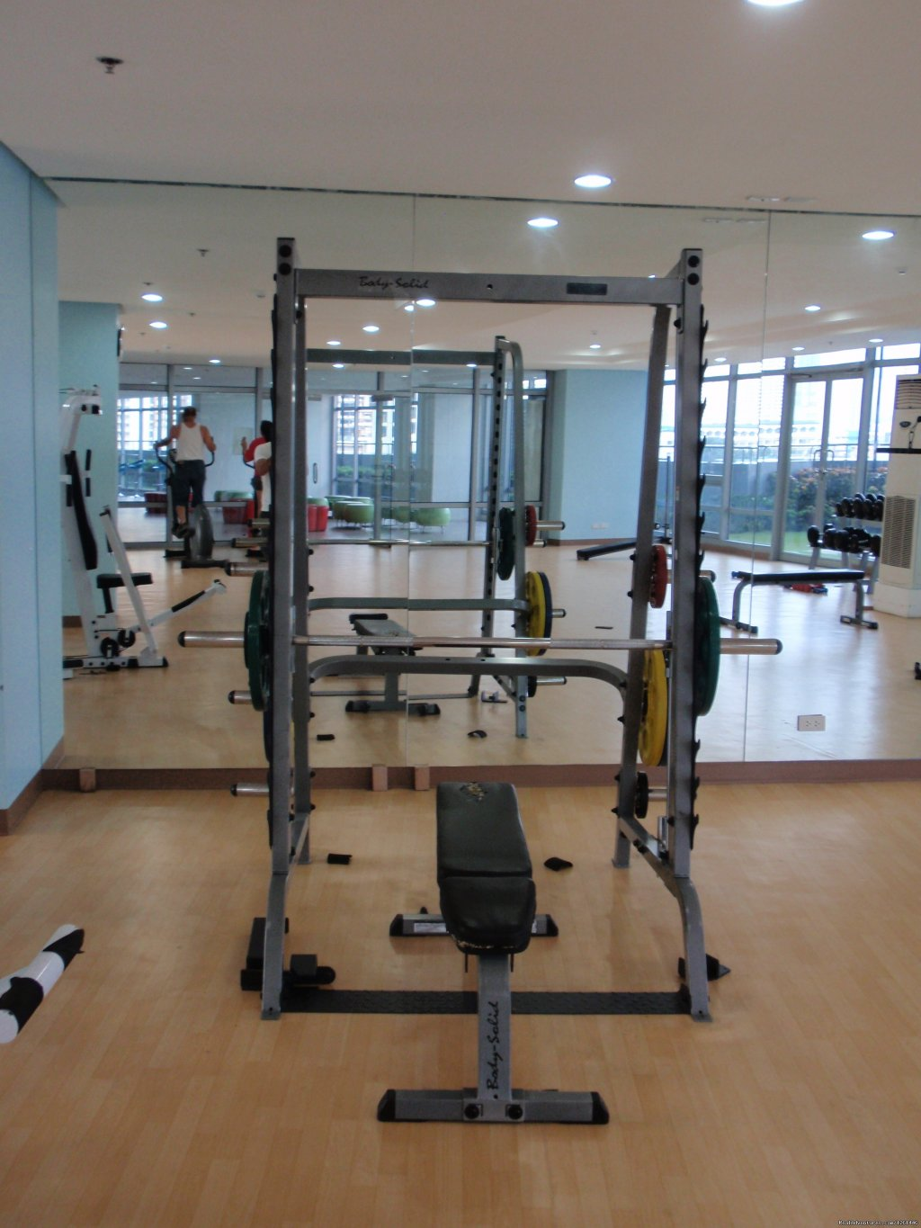 Fitness Center | Image #10/26 | Fully Furnished Studio-Condo Unit in Manila