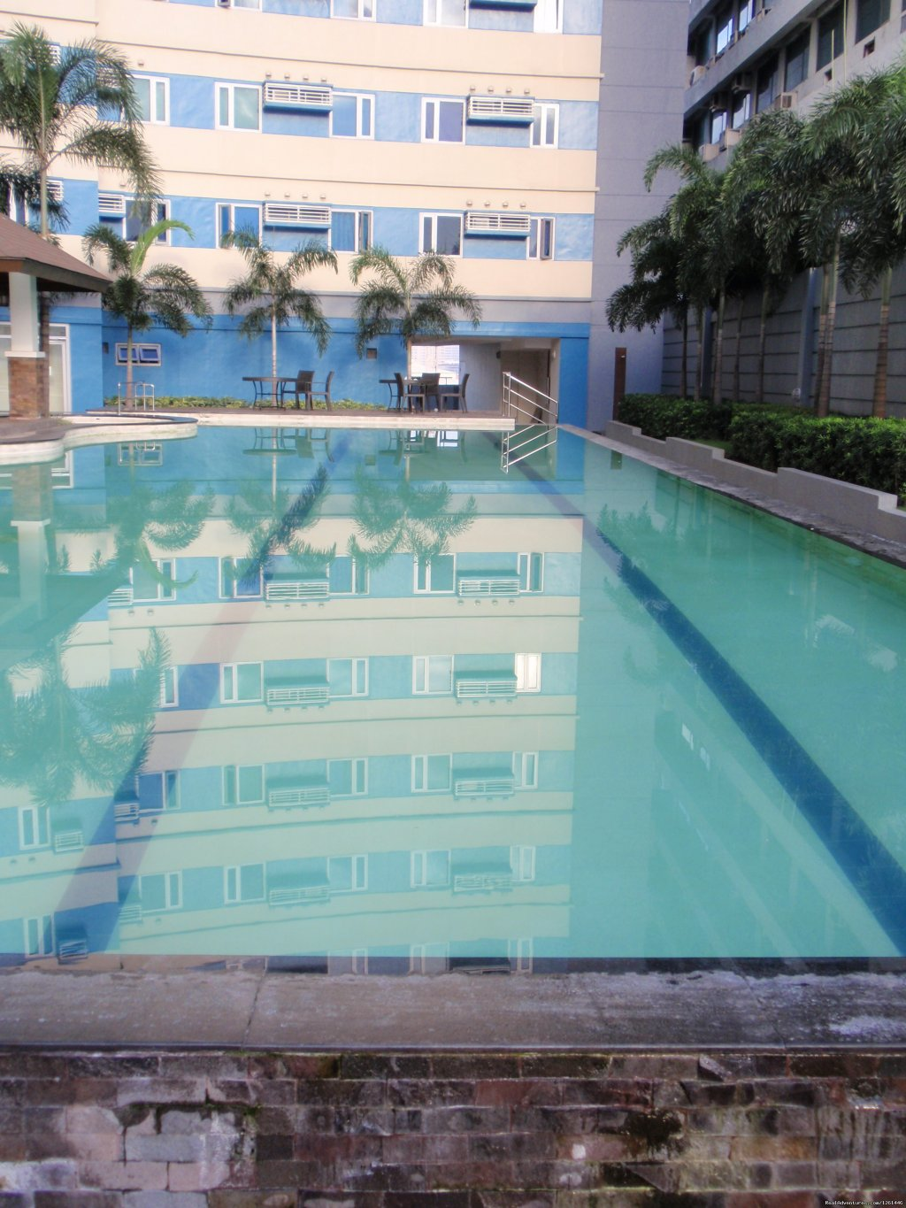 Adult Pool- Lap Pool | Image #5/26 | Fully Furnished Studio-Condo Unit in Manila