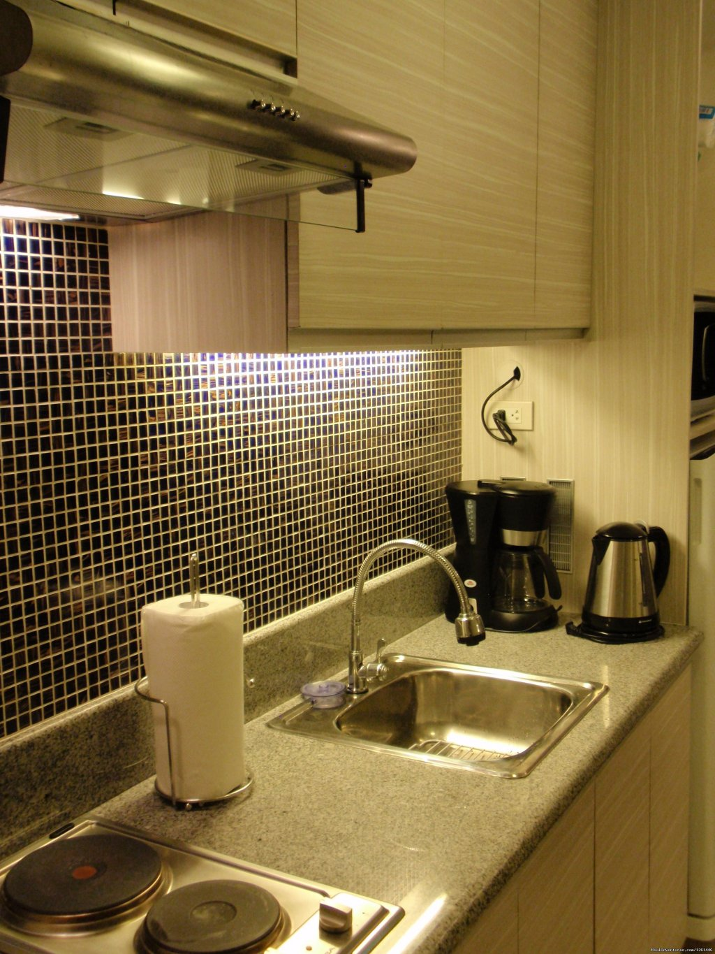 30th Floor Unit Kitchen | Image #21/26 | Fully Furnished Studio-Condo Unit in Manila