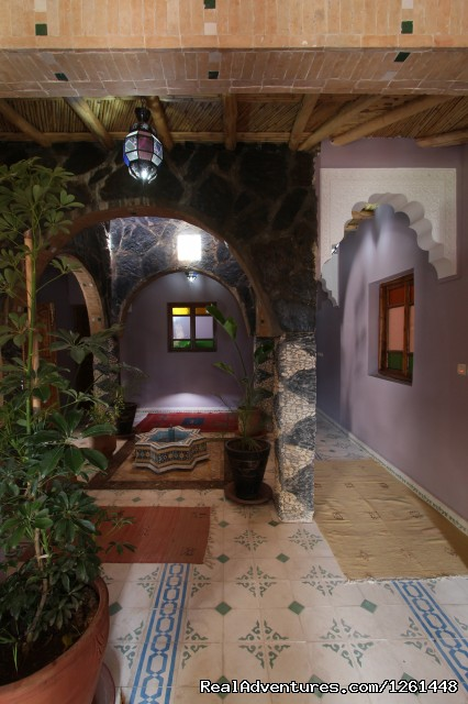 The hall - Riad Toubkal Imlil
