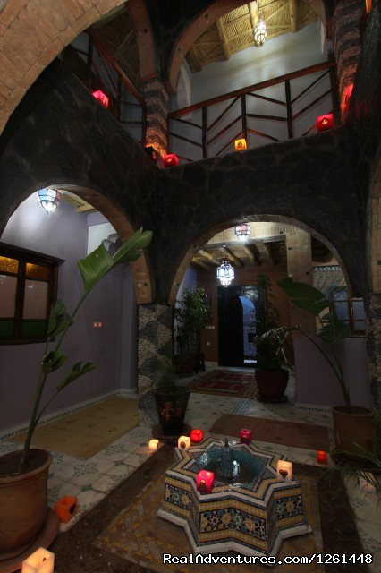 First floor: Riad Toubkal Imlil