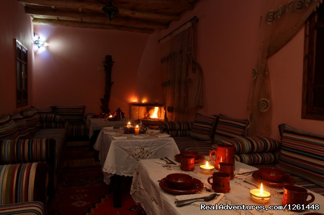 Traditionnel restaurant - Riad Toubkal Imlil
