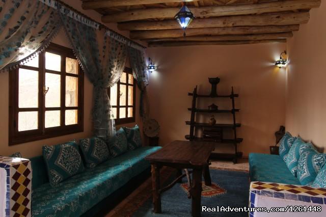 living room2  - Riad Toubkal Imlil