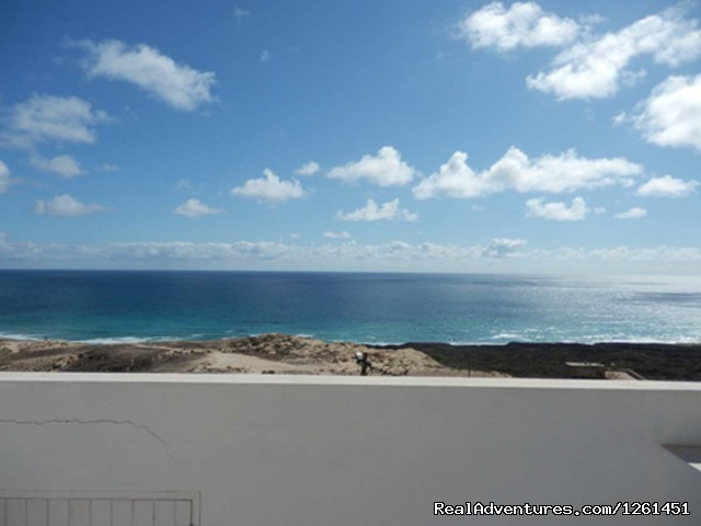 Sao Vicente Tranquil Beach House: Roof terrace view