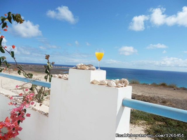 Balcony - Sao Vicente Tranquil Beach House