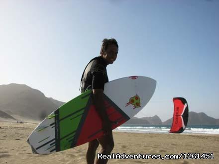 Kitesurfing in Salamansa - Sao Vicente Tranquil Beach House